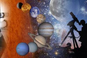 Wandeling door het universum
