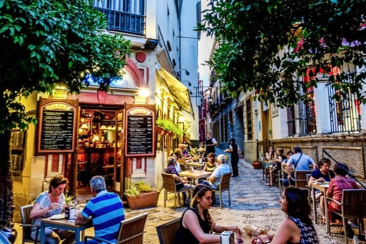 De steden van Andalusië