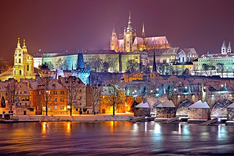 Winterwandelen in Tsjechië