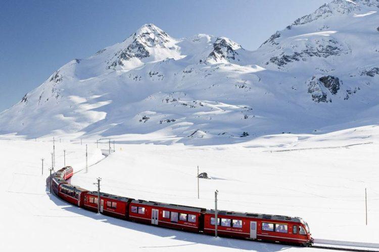 Fascinerend treinen door Zwitserland