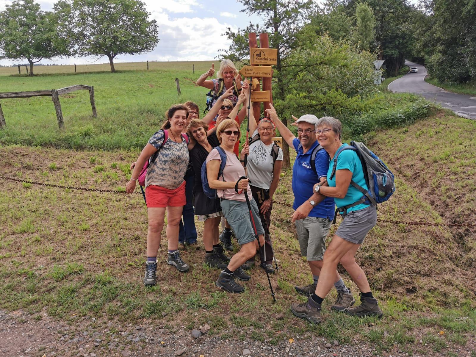 Wandelreis imponerend Tsjechië