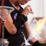 Leer glasblazen in Delfshaven