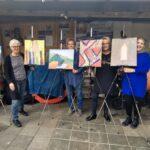 Kleuren, kwasten & kunstenaars in Bergen