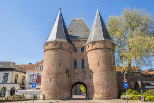 Koornmarktspoort in the historical center of Kampen