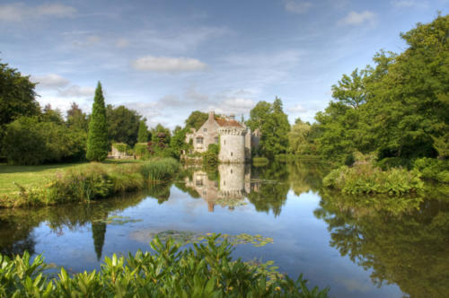 Scotney Castle Sussex UK