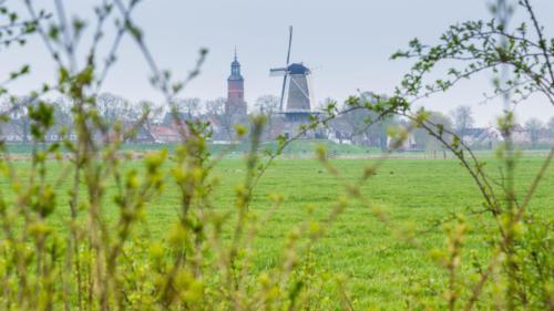 Village view Buren. Gelderland, Netherlands