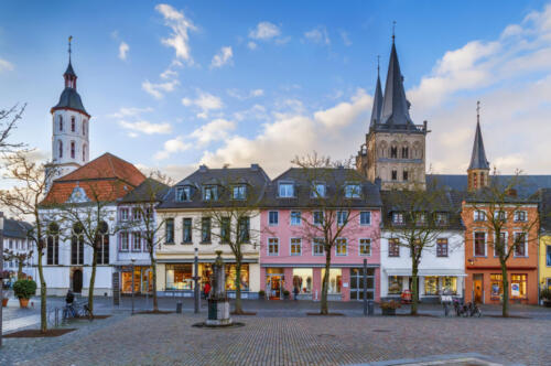 Xanten Market Square, Germany