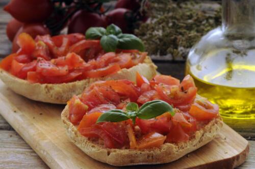 Friselle al pomodoro - Cucina italiana