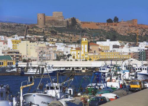 Europe, Spain, Almeria, Alcazaba