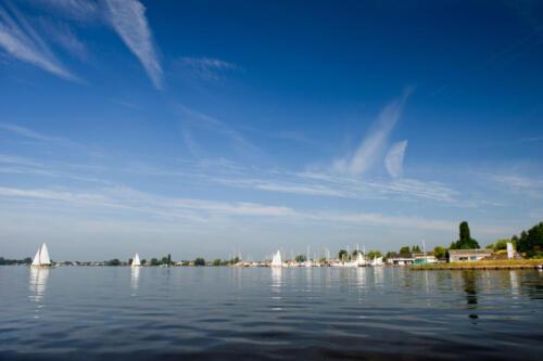 Loosdrechtse plassen in Holland