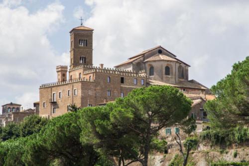 Esterno della Concattedrale di Santa Maria Assunta a Sutri