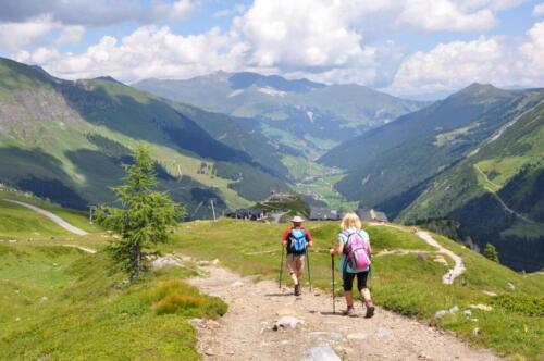 Wandern im Zillertal / Österreich