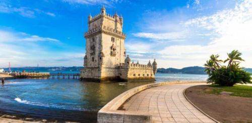 Lissabon-Torre-de-Belem