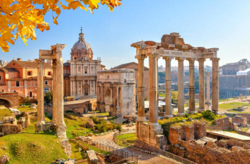 Rome Forum Romanun