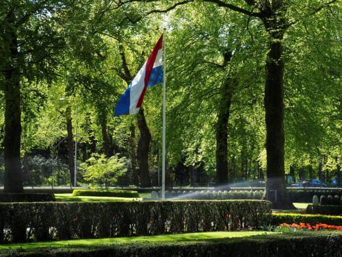 Vlag begraafplaats