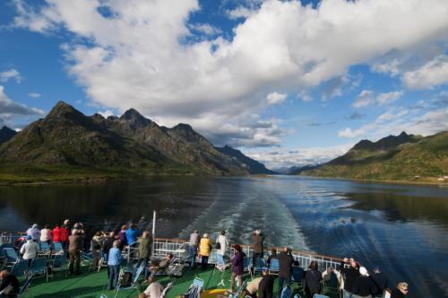 Vrij uitzicht vanaf het dek, credits Trym Ivar Bergsmo
